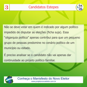 Card - candidatos estepes