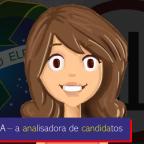 Ana Cândida, a analisadora de candidatos